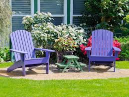 how to paint wood furniture outside