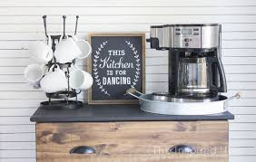 diy modern ikea tarva hack. I Love This Ikea Hack!! Create A Simple DIY Coffee Bar Using An Diy Modern Tarva Hack