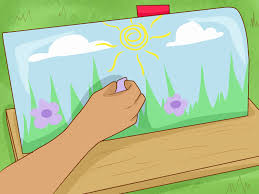 painting aluminum garage door elegant how to paint a mailbox with wikihow