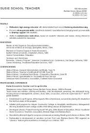 Example Profile For Resumes Resume Example Profile Dew Drops