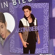 Justin Bieber Throw Blanket