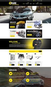 auto parts website template 15 awesome ecommerce templates themes for auto parts websites