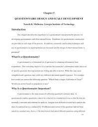 Considerations When Designing A Questionnaire Pdf Questionnaire Design And Scale Development