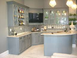 image of smart light grey kitchen cabinets
