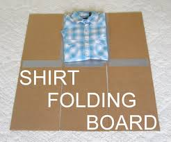 Folding Template For Clothes Shirt Folding Board From Cardboard And Duct Tape 4 Steps