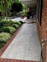 Concrete Path Designs 40 Best Brick And Concrete Walkway Designs Ideas 13