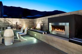 modern outdoor fireplace best 25 contemporary fireplaces