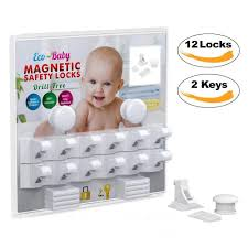 Eco Baby Child Safety Magnetic Cabinet And Drawer Locks For Proofing