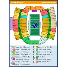 Wvu Football Seating Chart Mountaineer Field At Milan Puskar Stadium Events And