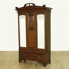 vintage antique furniture wardrobe walnut armoire. Antique English Large Walnut Armoire Wardrobe Closet C1899 Vintage Furniture U