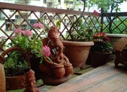 balcony garden in india india gardening