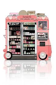 Benefit Vending Machine Prices Magnificent Benefit To Launch Airport Beauty Kiosks Fashion Pinterest