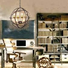 large metal orb chandelier world market decor double decorator light