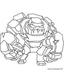 Print Golem Clash Of Clans Coloring Pages Lfc Coloring Pages