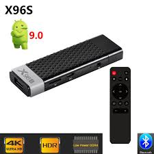 X96 S DDR4 4GB RAM 32GB ROM TV Stick Smart Android 9.0 TV Box Amlogic  S905Y2 WiFi Bluetooth 4K HD TV Dongle Mini PC X96S|Set-top Boxes