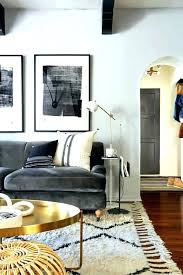 gray couch decor what color rug goes with a grey light living sofa room adorable