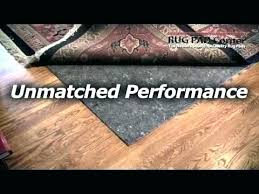 pottery barn premium rug pad review for hardwood floors pads this of ultra