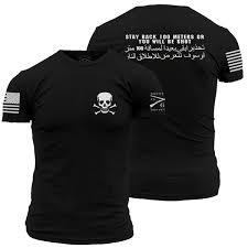 Stay Back Grunt Style Graphic T Shirt T Shirts For T Shirt For From Pxue3306 12 14 Dhgate Com