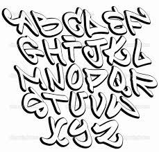 cool graffiti font bubble letters hip hop graffiti fonts graffiti font alphabet letters hip hop