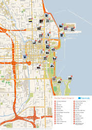 filechicago printable tourist attractions map  wikimedia commons