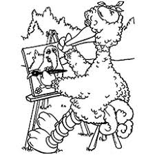 Small Picture Big Bird Of Sesame Street Coloring Pages Enjoy Coloring Coloring