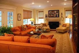 Burnt Orange And Brown Living Room Property Unique Decorating Ideas