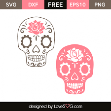 These free svg cutting files are compatible with cricut, cameo silhouette and other major cut machines. Sugar Skulls 4264 Lovesvg Com Cricut Crafts Butterflies Svg Silhouette Crafts