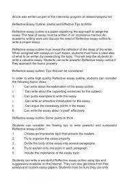 Personal Reflective Essays Examples Sqa Higher English Personal Ve Essay Examples Advanced