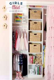 How to build and organize a little girl's custom closet