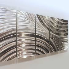 fashionable inspiration chrome wall art modern house large metal sculptures home remodel best 25 uk
