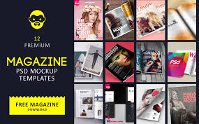 Magazine Cover Design Free Download 12 Best Magazine Psd Mockups And Templates Psddaddy Com