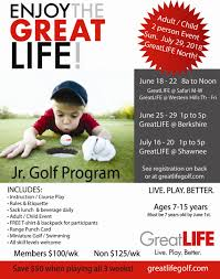 wele to greatlife golf fitness