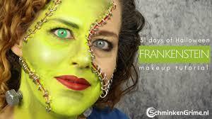 frankenstein makeup tutorial fx makeup 31 days of
