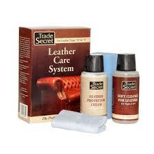 trade secret leather care system 4 piece kit