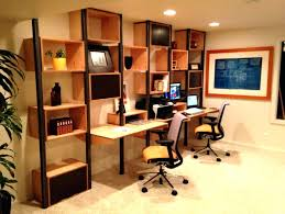 modular desks home office cool design with brown wall mounted desk and square shelving units squar innovation ideas home office shelving