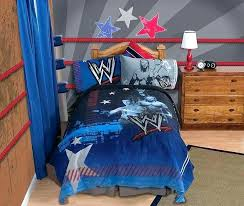 wwe bedroom ring bedroom ring bedroom decor bedding set with regard to home wrestling champion sheet