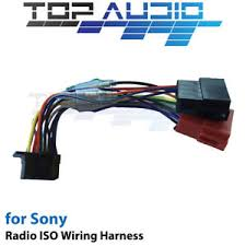 sony wx gt90bt iso wiring harness cable adaptor connector lead loom sony wx-gt90bt wiring diagram image is loading sony wx gt90bt iso wiring harness cable adaptor