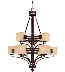 savoy house pennebrooke 9 light chandelier in copper basin 1 0301 9 244