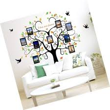 family tree wall decal 9 large photo pictures frames l and stick wall dec