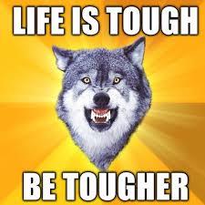 Courage Wolf Memes via Relatably.com