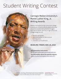 mlk jr writing awards department of english carnegie mellon event information