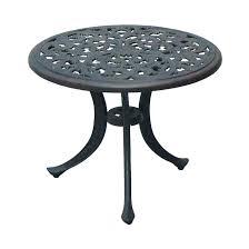 metal round patio table design of metal patio tables round patio table with fire pit patio
