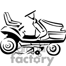 lawn mower drawing. lawn mower clip art drawing t