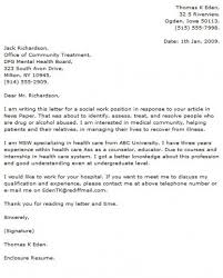 Cover Letters That Work Social Work Cover Letters Samples Social