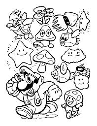 Dessin Colorier Super Mario