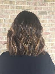 Light Brown Ombre Short Hair Balayage For Dark Brown Hair Hair By Chelsea Pelfrey Short