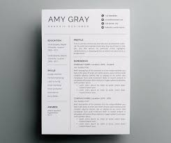 Graphic Designer Resume Template Adorable Professional Resume Template CV By Nordic Designs On