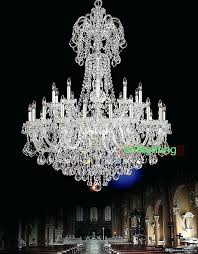 table top chandelier handcrafted glass crystal