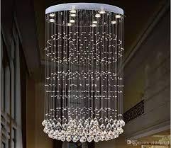 modern crystal chandeliers lighting ceiling chandelier light led indoor lamp fixtures living room lights home decoration led pendant lights crystal