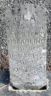 Ola McFarland (1888-1894) - Find A Grave Memorial